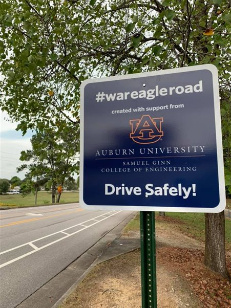 War Eagle, Fly Down the Road