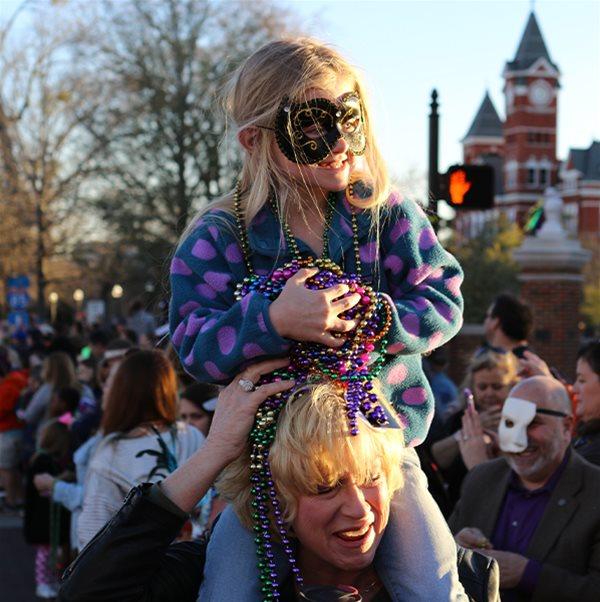 Auburn's Mardi Gras Parade & Krewe Krawl