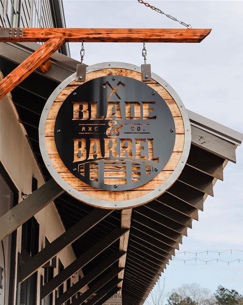 Blade & Barrel Hits the Target With New Axe-Throwing Venue