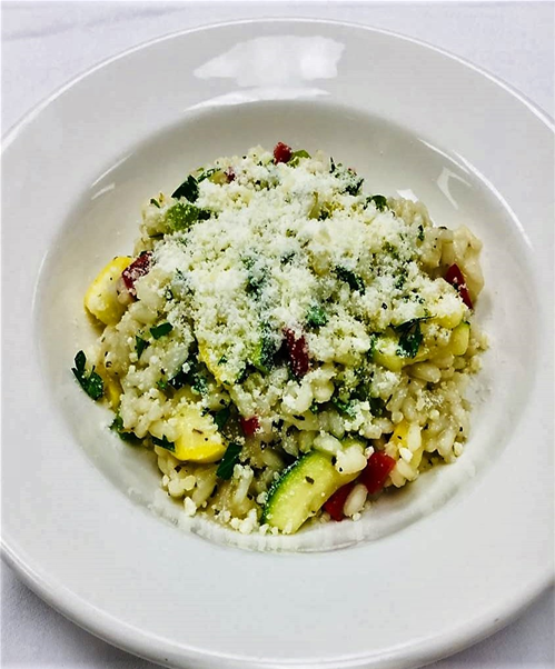 Farmers Market Risotto from Arricia