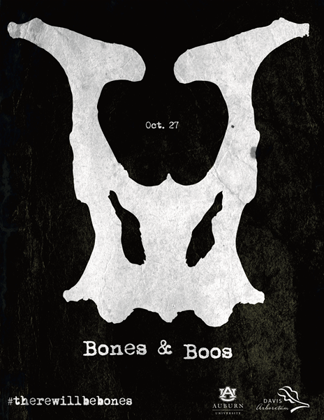 Bones and Boos at Davis Arboretum