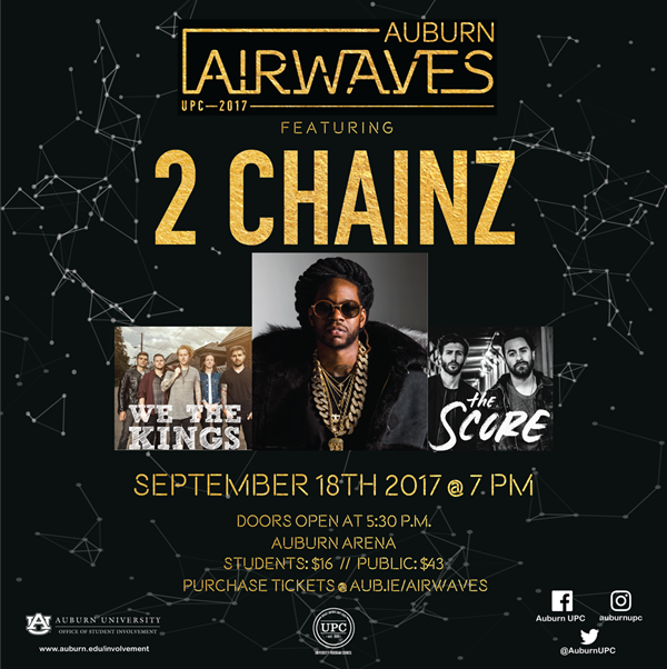 Auburn Airwaves Concert Tonight