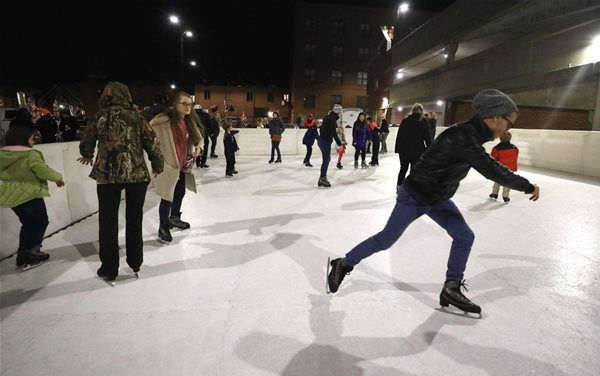 Auburn-Opelika Holiday Ice Rink 2018