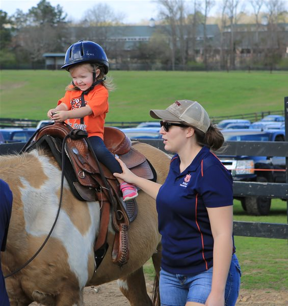 Auburn Equestrian Has The Mane Event