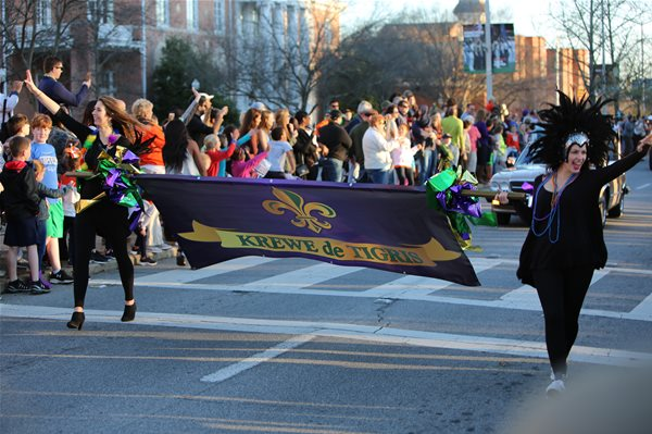 Mardi Gras Festivities in Auburn