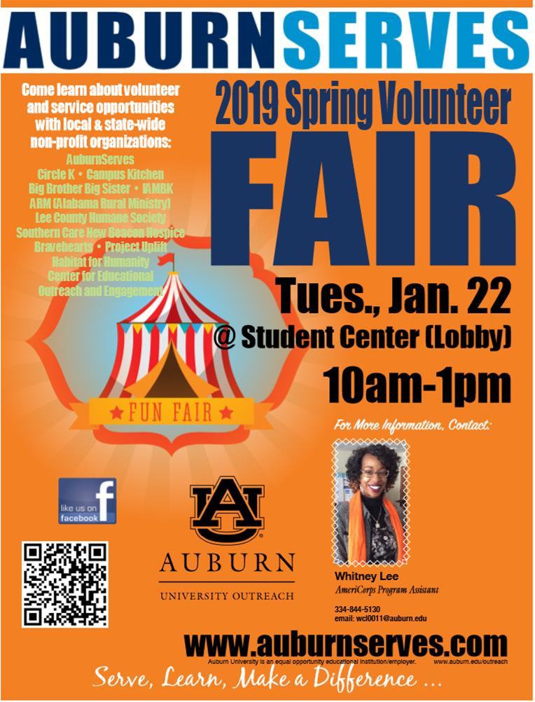 2019 Volunteer Fair: A Carnival Affair