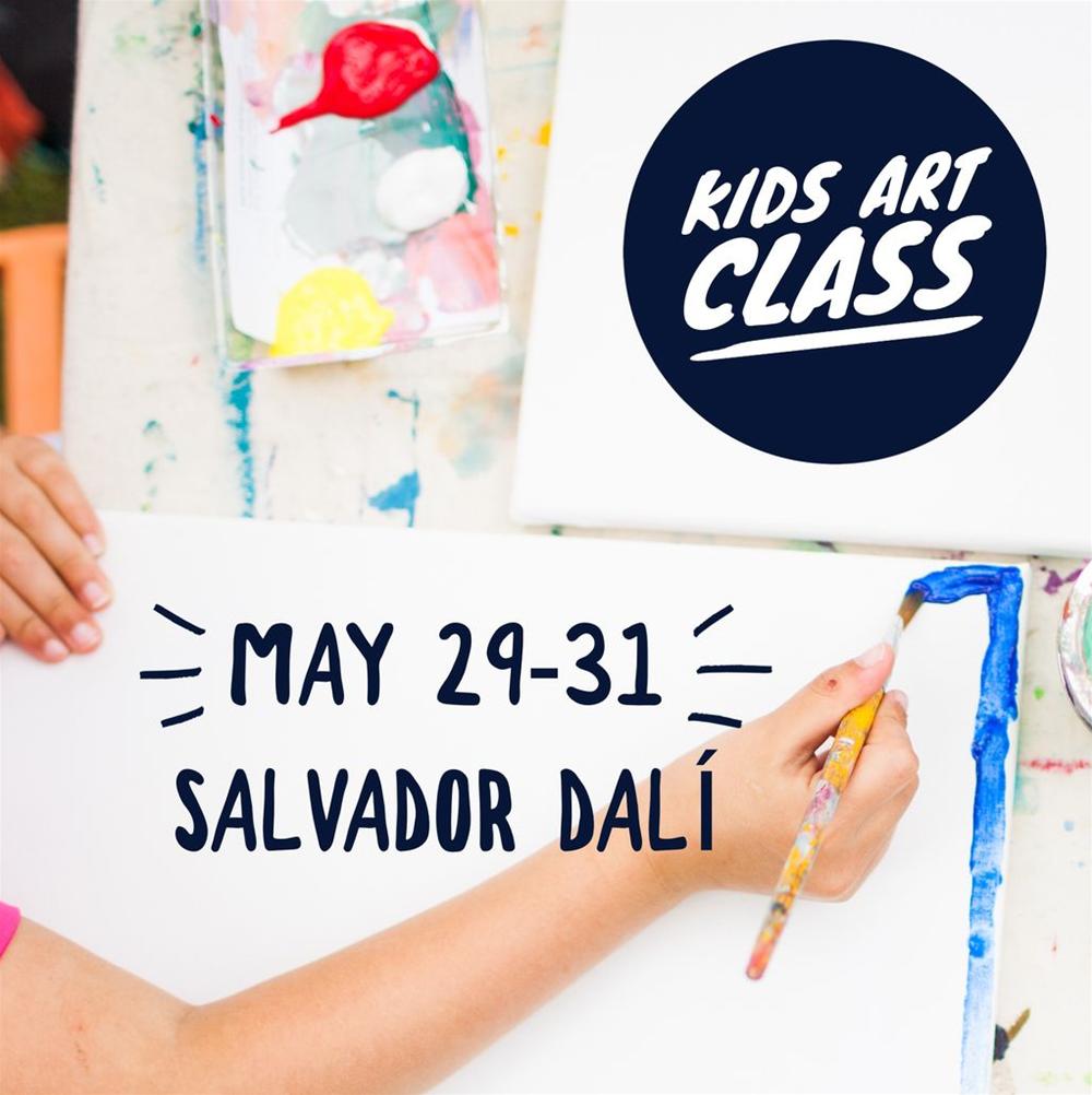 Kids Art Class - Salvador Dali