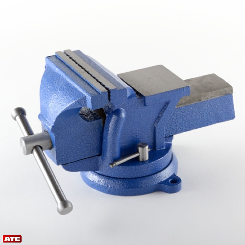 "ATE Pro. USA 5"" Bench Vise (Blue) at Sears.com"