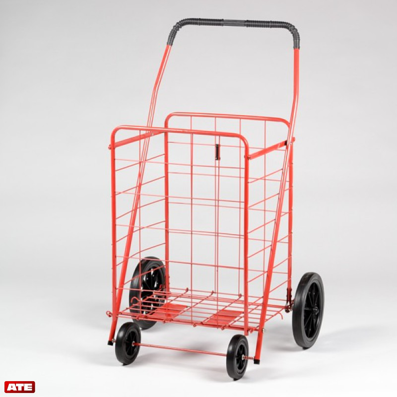 ATE Pro. USA Large Shopping Cart w/Plastic Wheels at Sears.com