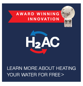 Rheem H2AC for Free Hot Water