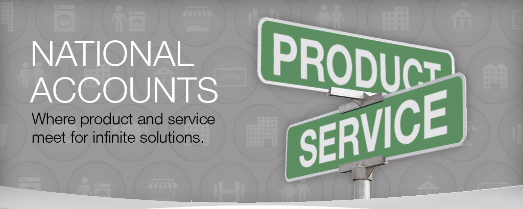national account The national accounts division offers expert handling of highly complex multi-property, multi-county and multi-state commercial and industrial real estate transactions throughout the country our national accounts offices are fully staffed and strategically located across the nation with specialized.
