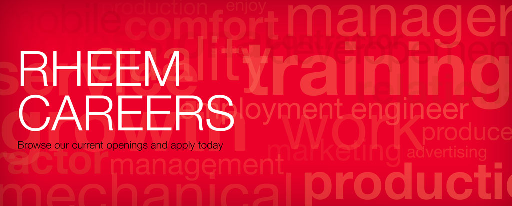 Careers at Rheem