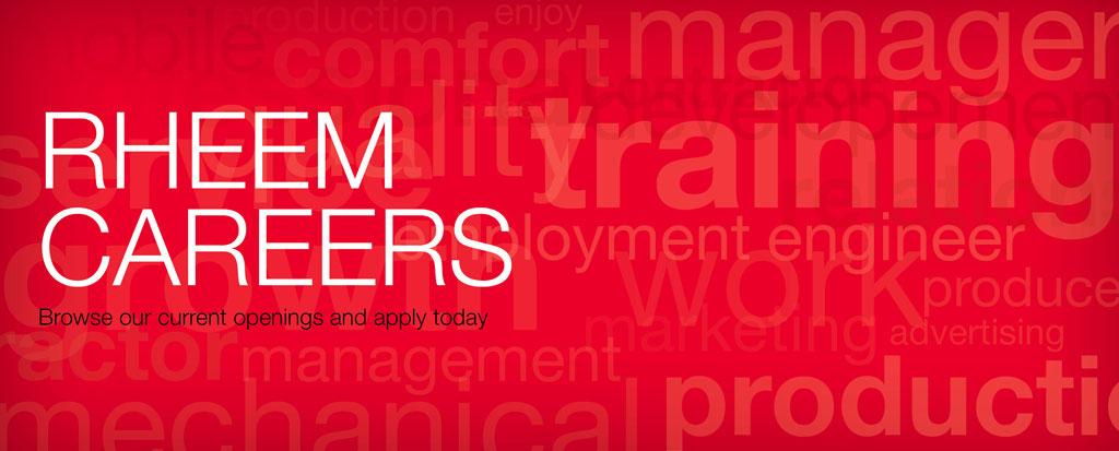 Careers at Rheem
