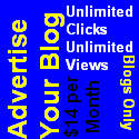 Adgitize your blog. Unlimited Clicks. Unlimited Views. Blogs Only.