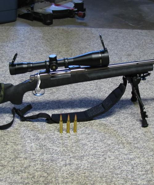 The Remington 870 SPS