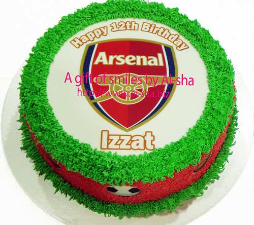 Birthday Cake Edible Image Arsenal