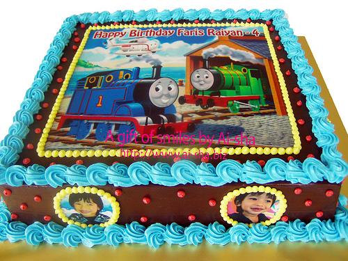 Birthday Cake Edible Image Thomas and Friends
