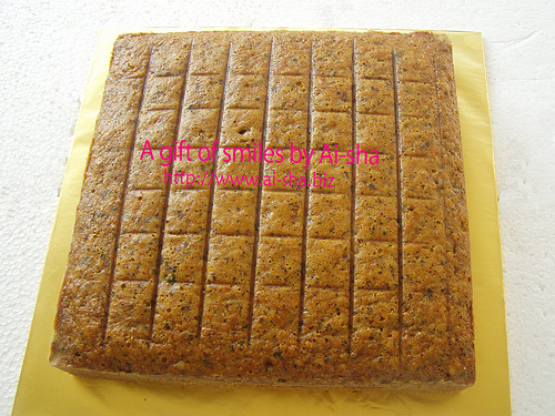 Plain walnut Cake