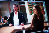 Sean Penn & Shanna Collins in Arri Alexa Monitor on Americans