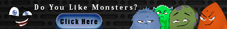 the logo creator - Monsters banner ad