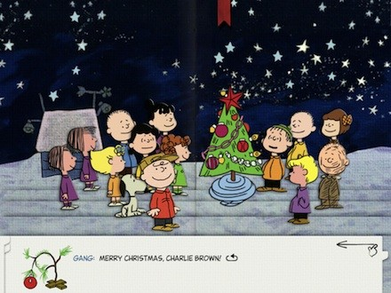 Merry Christmas Charlie Brown.The Horn Book Out Of The Box Merry Christmas Charlie