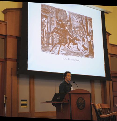 The Notorious Benedict Arnold: Author Steve Sheinkin's 2011 BGHB Nonfiction Award Speech
