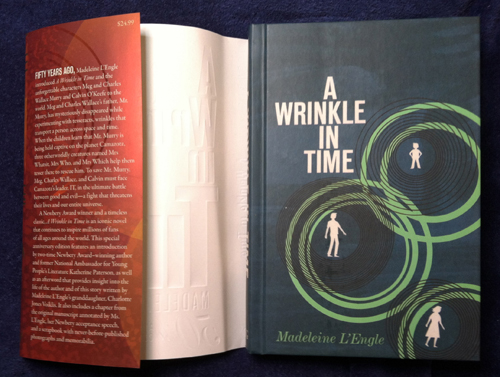 A Wrinkle In Time 2012 cover and jacket