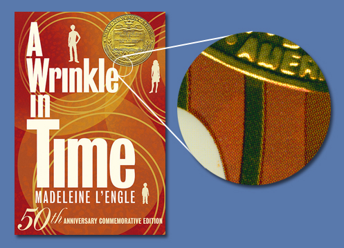 A Wrinkle In Time jacket close-up view
