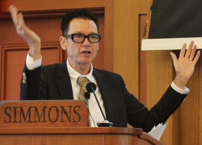 Jack Gantos at the Simmons Summer Institute