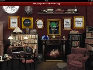 poetry app menu