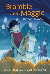 haas_bramble and maggie spooky season