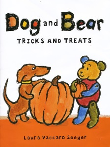 seeger_dog and bear tricks and treats