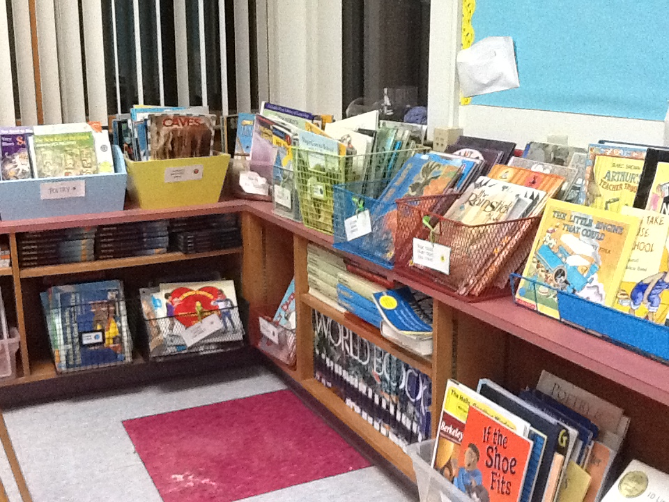 Trimming down a classroom library