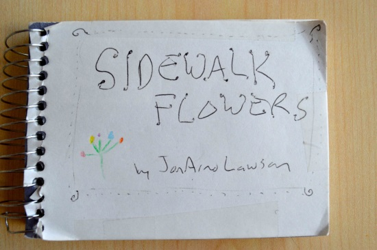 JonArno Lawson sketches from Sidewalk Flowers