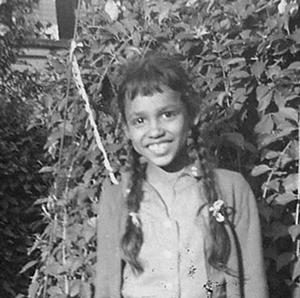 Vaunda Micheaux Nelson as a child.