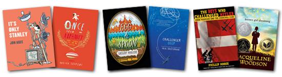 2015 Boston Globe-Horn Book Award honor boks