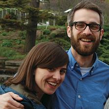 Elisa and Patrick Gall