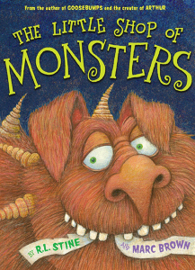 horn boo_stine_little shop of monsters