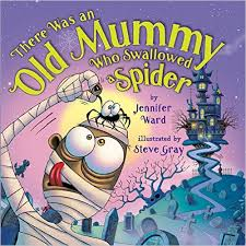 horn boo_ward_there was an old mummy who swallowed a spider
