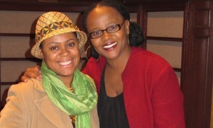 Ibi Zoboi and Edwidge Danticat.