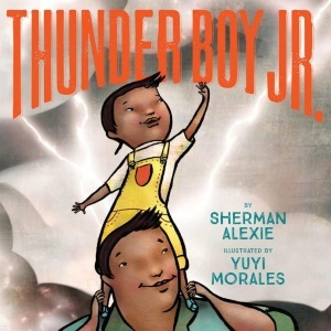 Yuyi Morales on Thunder Boy Jr.