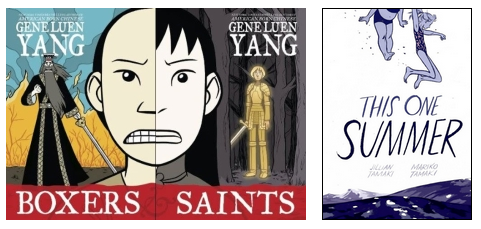 Three graphic novels | Class #5, 2016