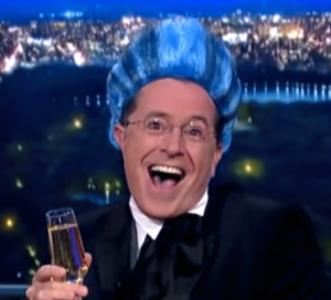Stephen Colbert: kidlit after dark