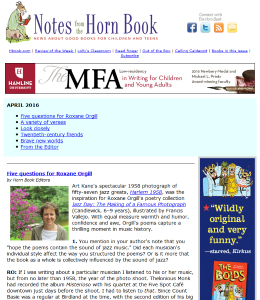 April Notes is here