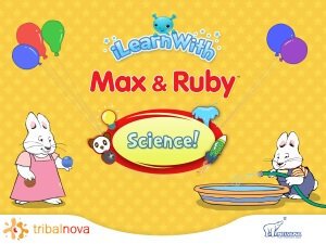 iLearnWith Max & Ruby: Science! app review