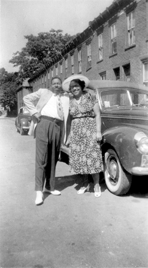 James and Willie Mae Pinkney. Photo courtesy of Jerry Pinkney.