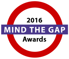 Reviews of 2016 Mind the Gap Award winners