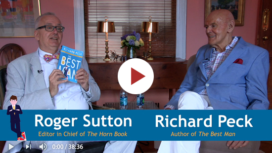 Richard Peck Talks with Roger (Video Edition)