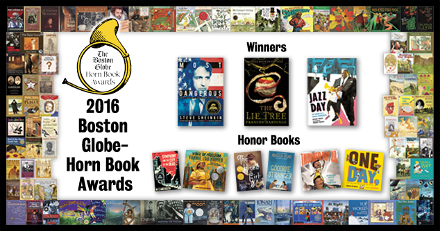 2016 Boston Globe-Horn Book Awards speeches