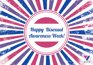 Books for Bisexual Awareness Week/Celebrate Bisexuality Day